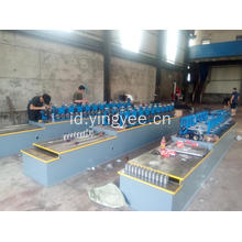 Double out C purlin roll forming machine